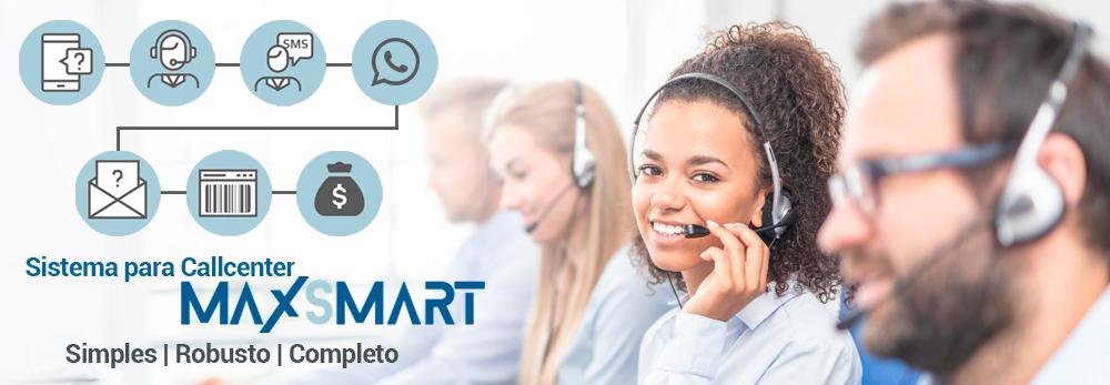Maxsmart sistema para Call center
